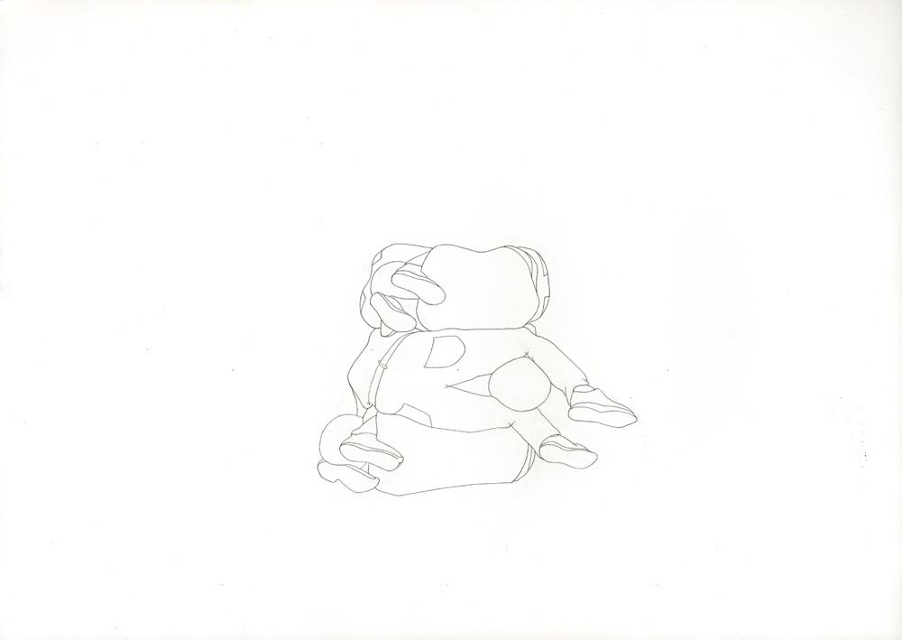 Kora Junger – #001_03_12_1184, 29,7 x 42 cm, pencil on paper, 2012