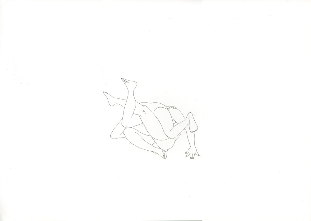 Kora Junger – #001_04_12_1185, 29,7 x 42 cm, pencil on paper, 2012