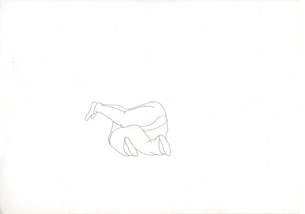 Kora Junger – #001_05_12_1186, 29,7 x 42 cm, pencil on paper, 2012