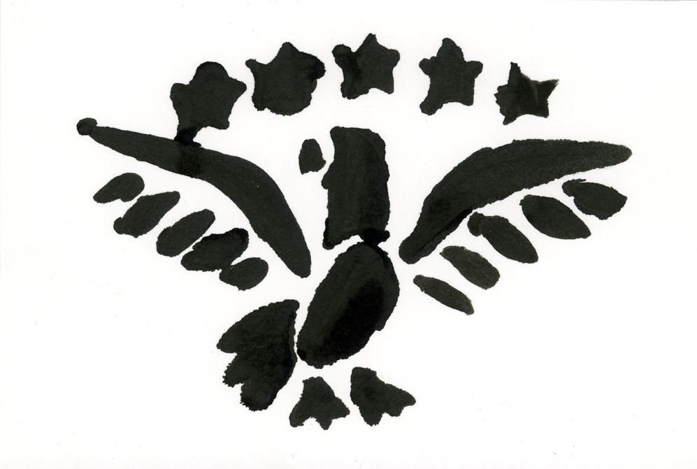 Kora Junger – #002_05_09_1105, 10 x 14,8 cm, ink on paper, 2009