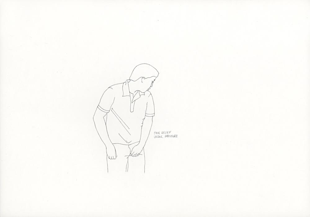 Kora Junger – »World's Saddest Songs« #003_05_06_837, 21 x 29,7 cm, pencil on paper, 2006