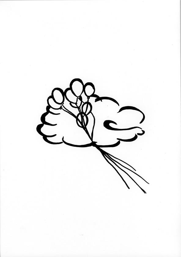 Kora Junger – #003_18_09_1137, 29,7 x 21 cm, ink on paper, 2009