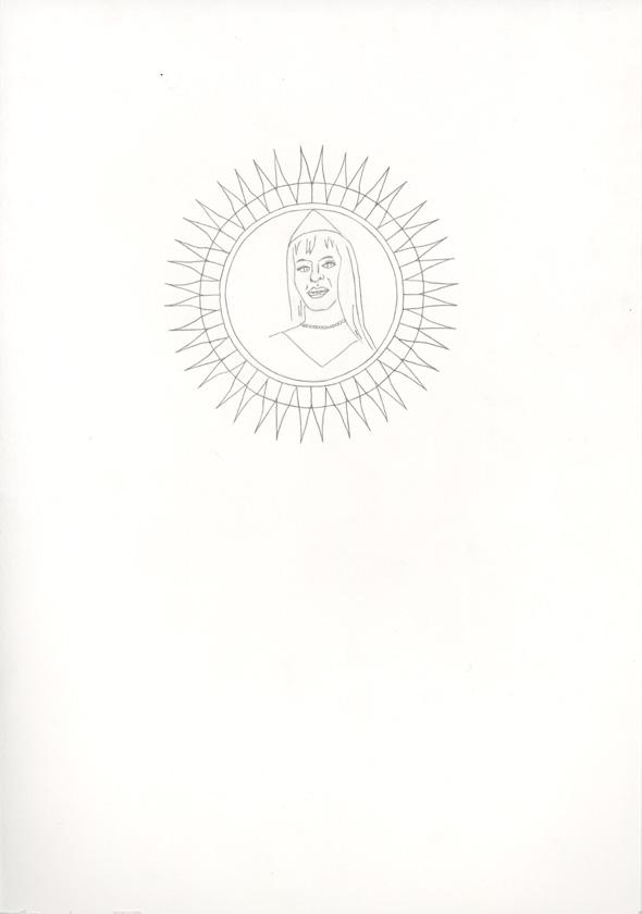 Kora Junger – #006_02_07_1044, 29,7 x 21 cm, pencil on paper, 2007