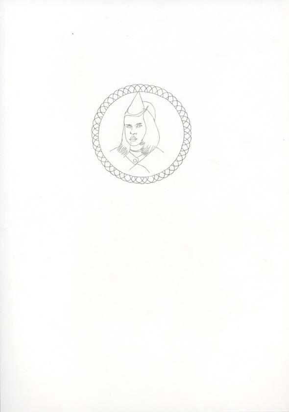 Kora Junger – #006_03_07_1045, 29,7 x 21 cm, pencil on paper, 2007