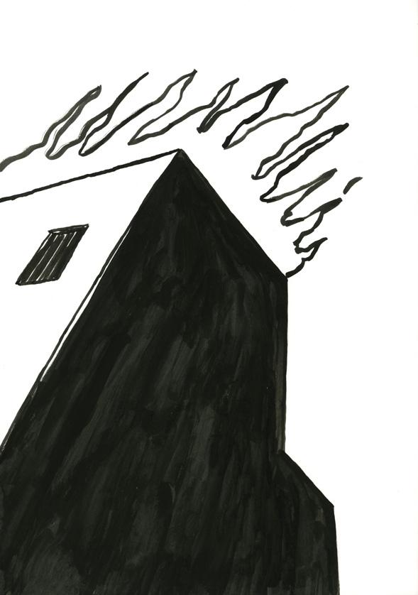 Kora Junger – #008_02_06_895, 29,7 x 21 cm, ink on paper, 2006