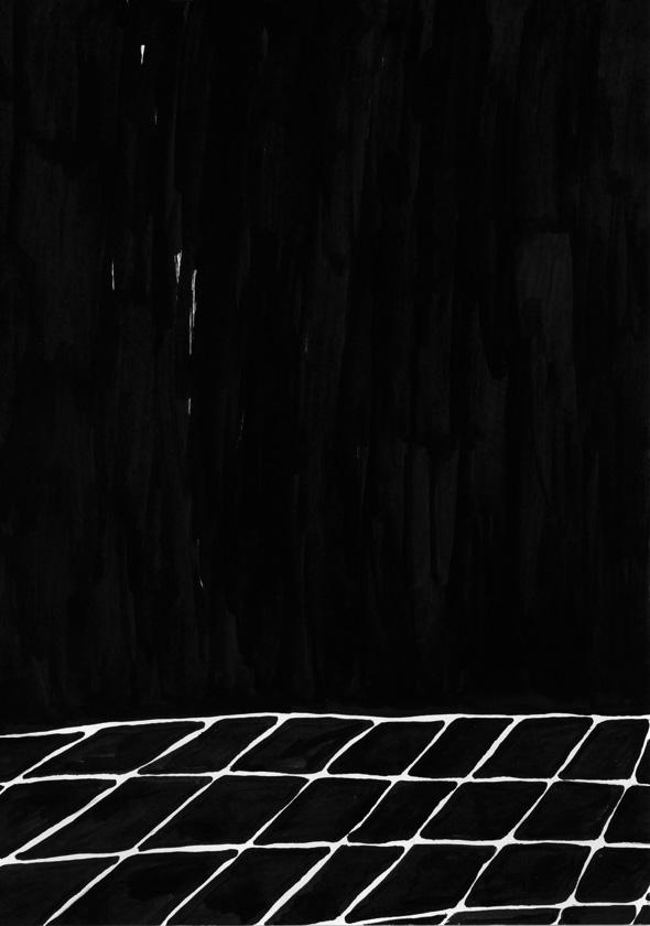 Kora Junger – #008_03_06_896, 29,7 x 21 cm, ink on paper, 2006