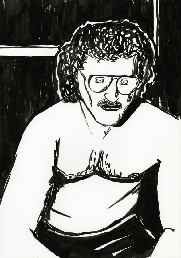 Kora Junger – #008_11_06_904, 29,7 x 21 cm, ink on paper, 2006