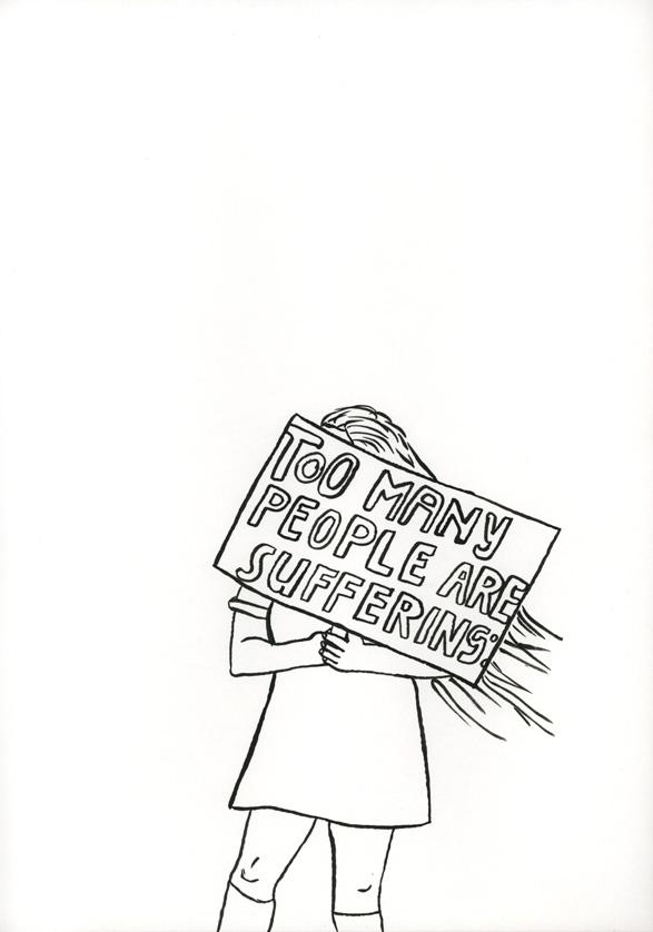 Kora Junger – #008_20_06_913, 29,7 x 21 cm, ink on paper, 2006