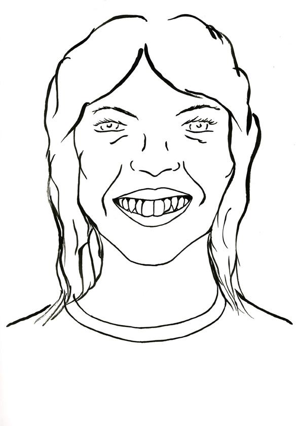 Kora Junger – #009_04_07_1055, 29,7 x 21 cm, ink on paper, 2007