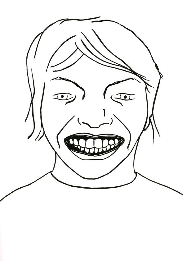 Kora Junger – #009_05_07_1056, 29,7 x 21 cm, ink on paper, 2007