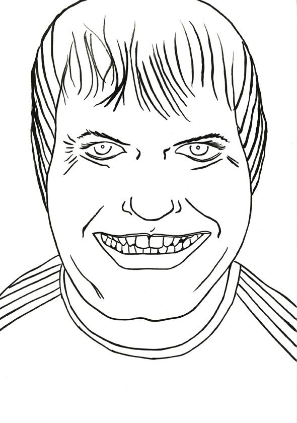 Kora Junger – #009_06_07_1057, 29,7 x 21 cm, ink on paper, 2007