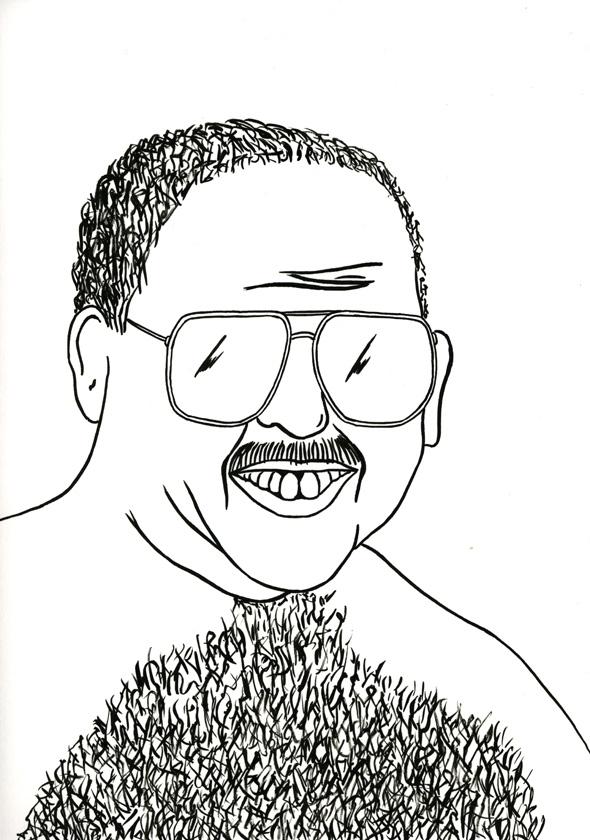 Kora Junger – #009_12_07_1063, 29,7 x 21 cm, ink on paper, 2007