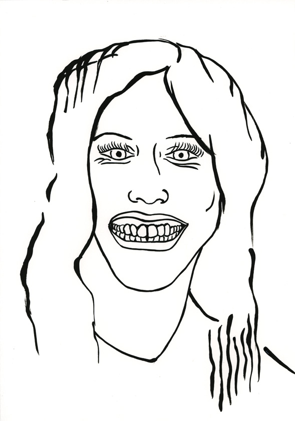 Kora Junger – #010_04_07_1071, 29,7 x 21 cm, ink on paper, 2007