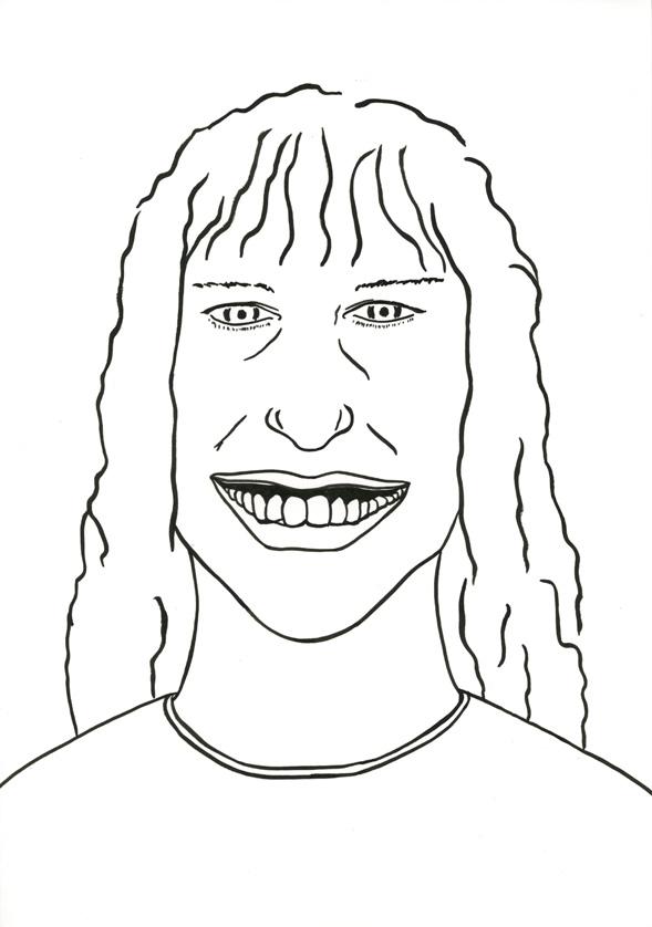 Kora Junger – #010_06_07_1073, 29,7 x 21 cm, ink on paper, 2007