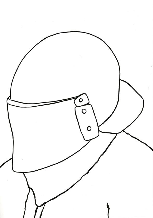 Kora Junger – #010_11_07_1078, 29,7 x 21 cm, ink on paper, 2007
