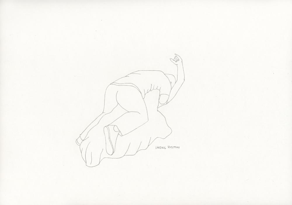 Kora Junger – »World's Saddest Songs« #011_10_06_941, 21 x 29,7 cm, pencil on paper, 2006