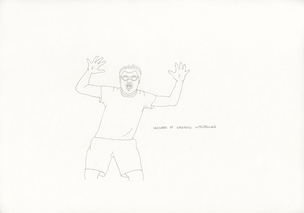 Kora Junger – »World's Saddest Songs« #011_14_06_945, 21 x 29,7 cm, pencil on paper, 2006