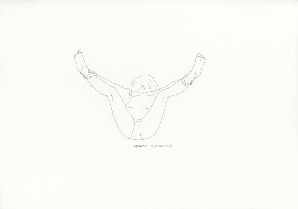 Kora Junger – »World's Saddest Songs« #011_18_06_949, 21 x 29,7 cm, pencil on paper, 2006