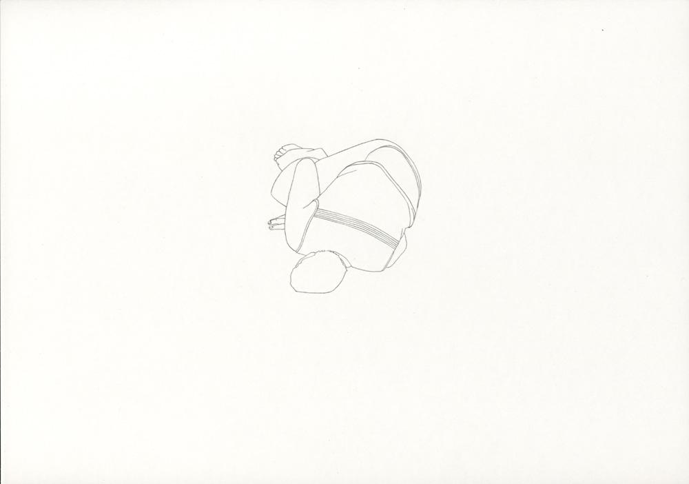 Kora Junger – »World's Saddest Songs« #013_01_06_954, 21 x 29,7 cm, pencil on paper, 2006