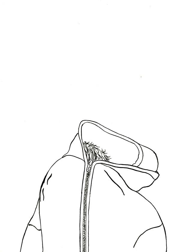 Kora Junger – #015_08_06_976, 29,7 x 21 cm, ink on paper, 2006