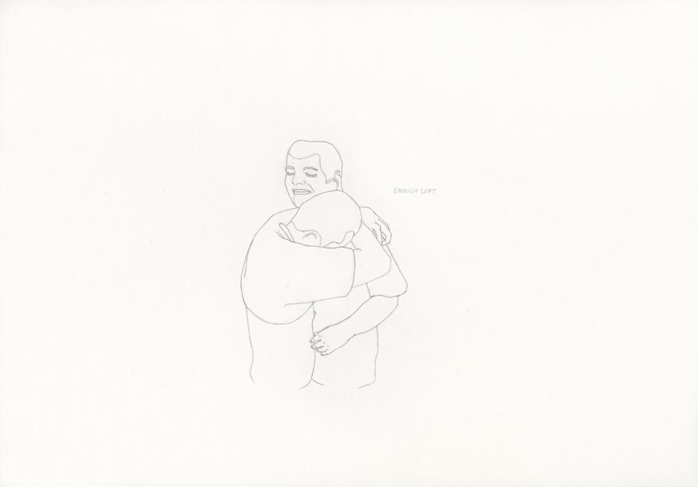 Kora Junger – »World's Saddest Songs« #017_08_05_816, 21 x 29,7 cm, pencil on paper, 2005