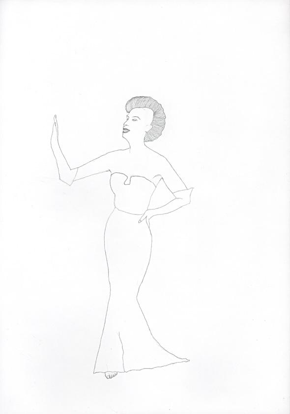 Kora Junger – #008_02_04_617, 29,7 cm x 21 cm, pencil on paper, 2004