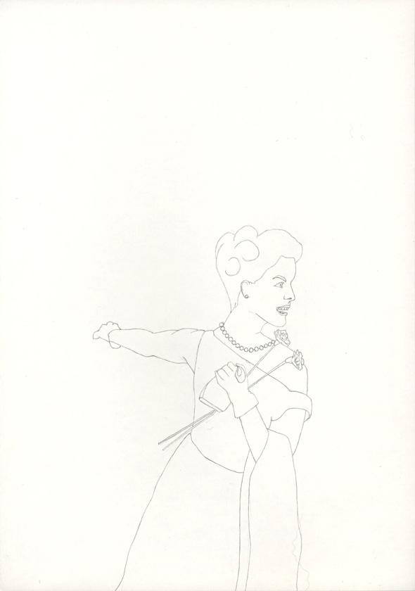 Kora Junger – #018_05_04_702, 29,7 cm x 21 cm, pencil on paper, 2004