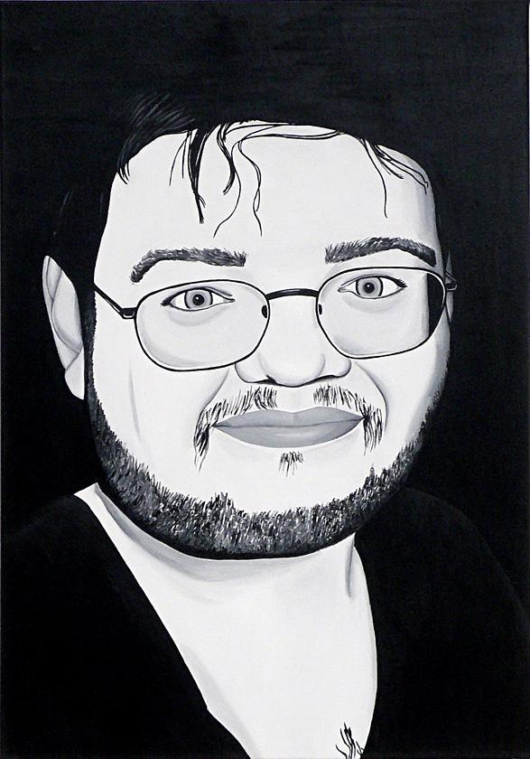 Kora Junger – Jack, 100 x 70 cm, acryl on canvas, 2006