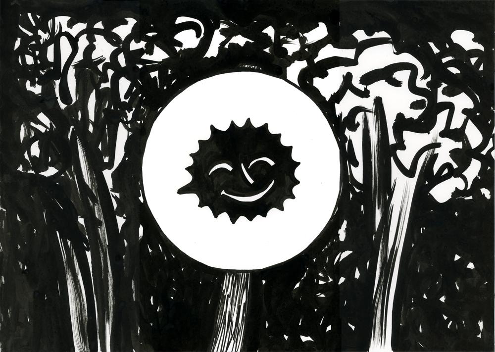 Kora Junger – #001_08_11_1146, 29,7 x 42 cm, ink on paper, 2011