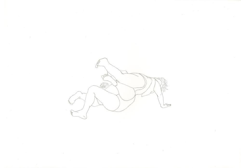 Kora Junger – #001_05_11_1143, 29,7 x 42 cm, pencil on paper, 2012