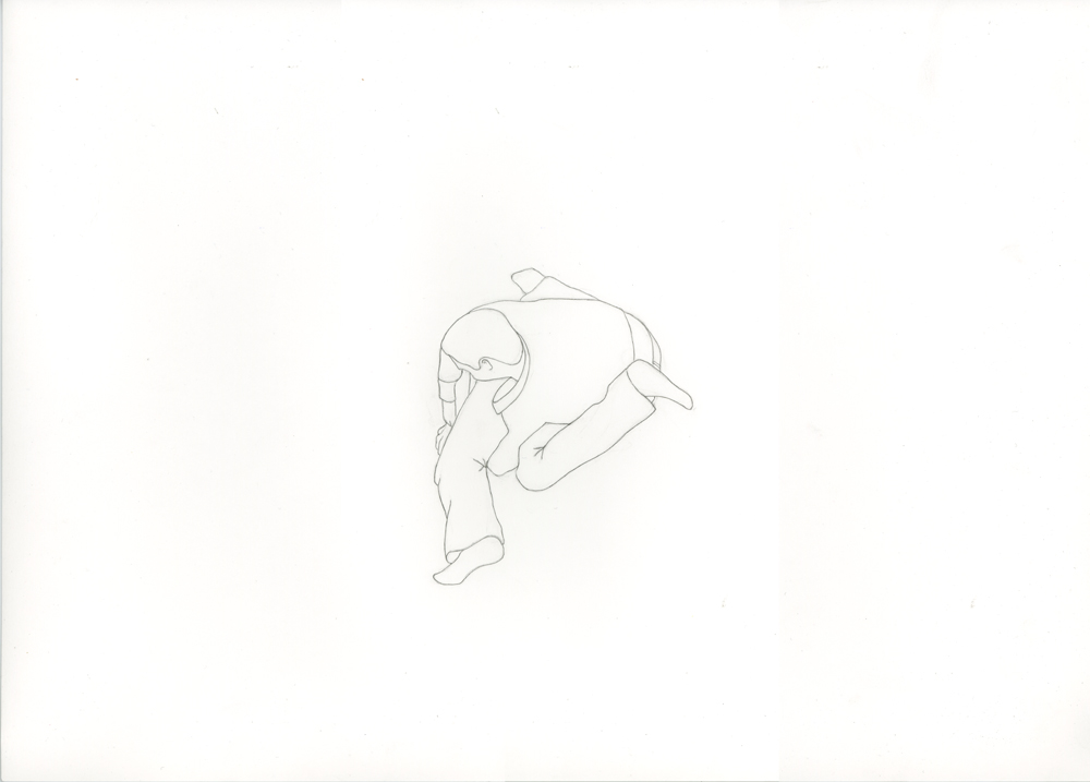 Kora Junger – #001_07_11_1145, 29,7 x 42 cm, pencil on paper, 2012