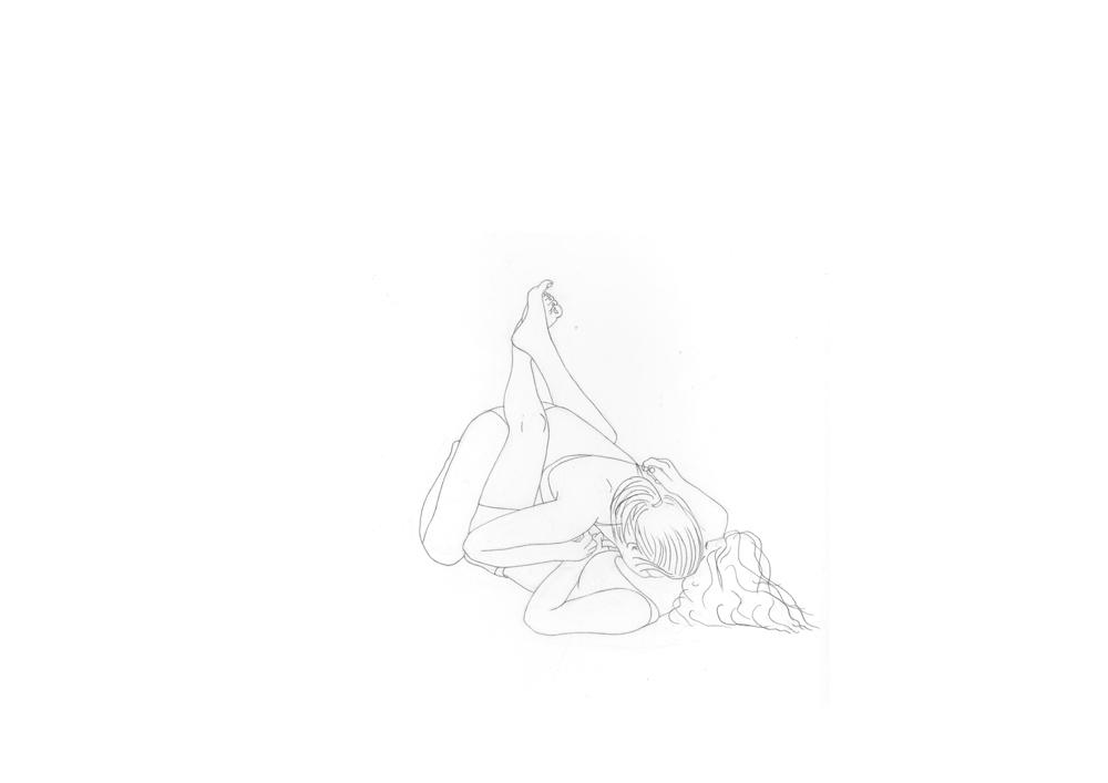 Kora Junger – #003_01_11_1169, 29,7 x 42 cm, pencil on paper, 2012