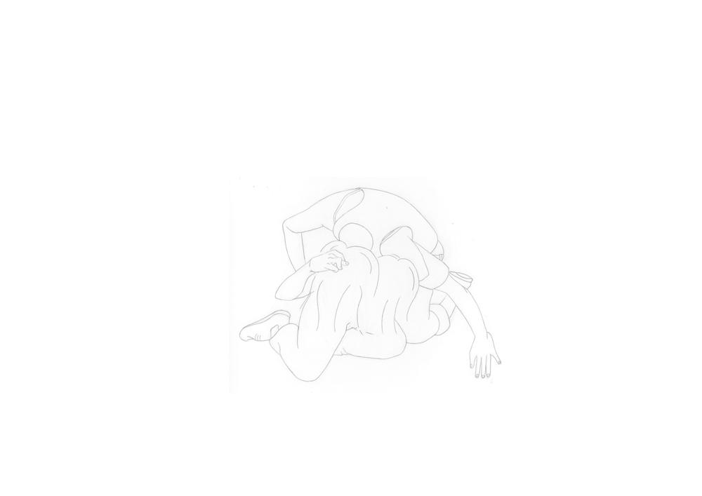 Kora Junger – #003_03_11_1171, 29,7 x 42 cm, pencil on paper, 2012