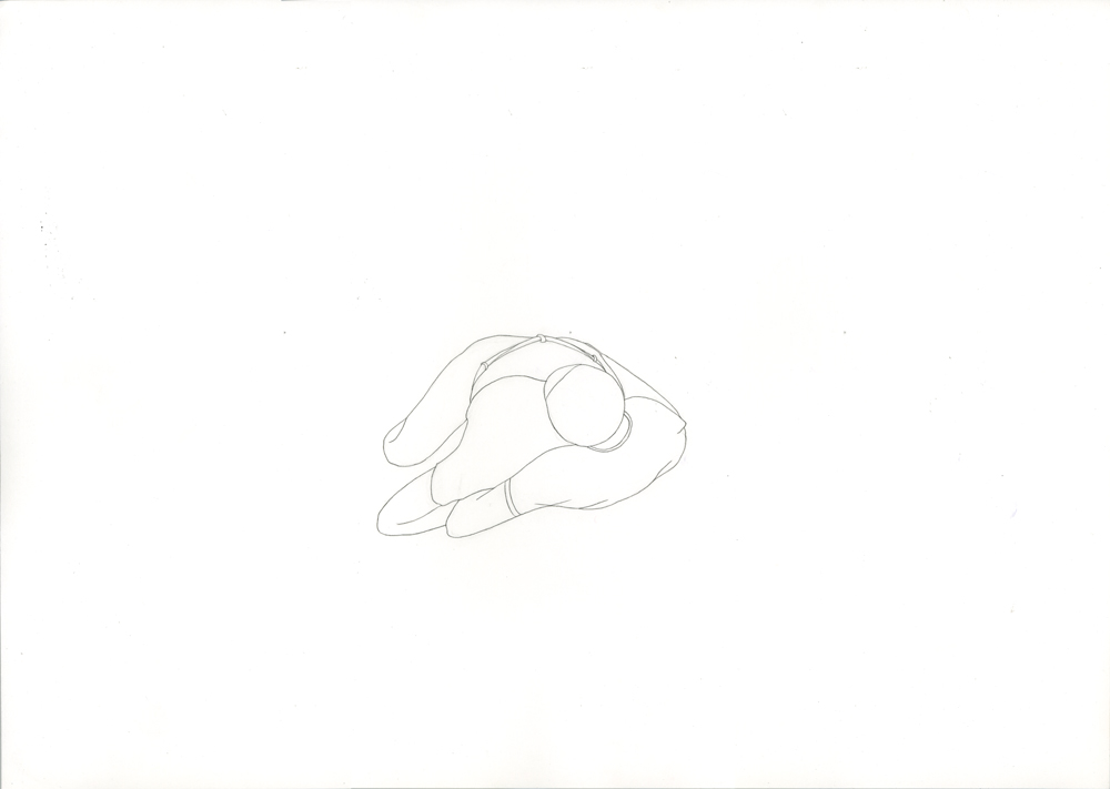 Kora Junger – #003_11_11_1179, 29,7 x 42 cm, pencil on paper, 2012
