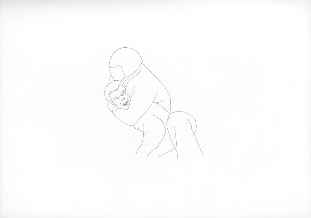 Kora Junger – 019_02_05_823, 21# x 29,7 cm, pencil on paper, 2005Kora Junger – 019_02_05_823, 21# x 29,7 cm, pencil on paper, 2005