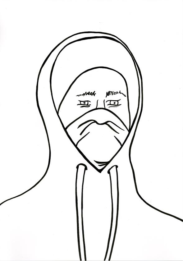 Kora Junger – #002_08_11_1157, 29,7 x 21 cm, ink on paper, 2011
