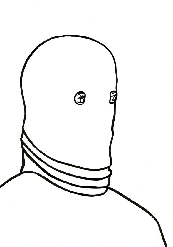 Kora Junger – #002_12_11_1161, 29,7 x 21 cm, ink on paper, 2011